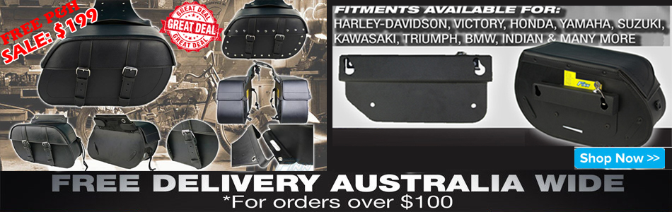 507 saddlebag sale $199 & Easy quickrelease brackets
